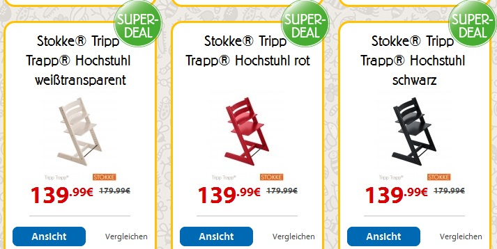 spielemax superdeal 40 rabatt auf stokke hochstuhl. Black Bedroom Furniture Sets. Home Design Ideas