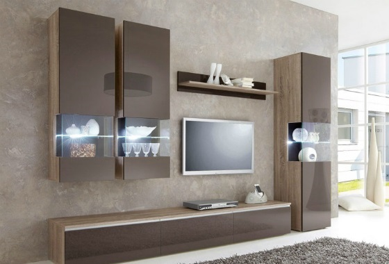otto deal des tages 200 rabatt auf 5 teilige wohnwand. Black Bedroom Furniture Sets. Home Design Ideas